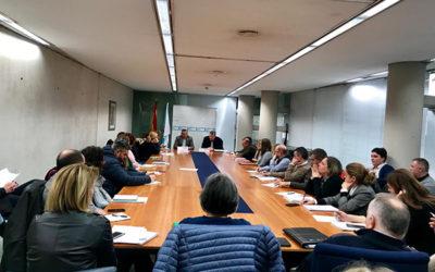 O Presidente Cecap Galicia Manuel Peréz Masero e os asociados de Cecap Lugo