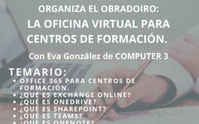 OFICINA VIRTUAL O365 PARA CENTROS DE FORMACION